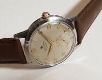Vintage Armbanduhr Pronto in Edelstahl – Handaufzug – Cal. AS 1130