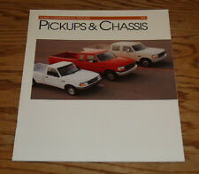 Original 1993 Ford Commercial Truck Pickup & Chassis Sales Brochure 93