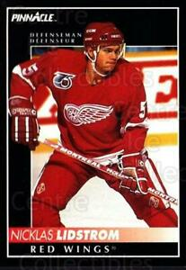 1992-93 Pinnacle Canadian #8 Nicklas Lidstrom