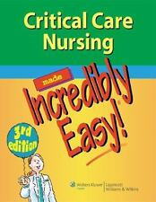 Reference paperback textbooks educational books in english ebay ebook version critical care nursing made incredibly easy 3rd edition fandeluxe Choice Image