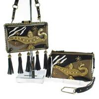 Mary Frances Diamond in the Rough Embellished Disney Aladdin Purse Handbag NEW