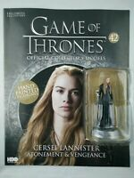 GAME OF THRONES ISSUE 42 CERSEI LANNISTER EAGLEMOSS FIGURE COLLECTOR'S MODEL