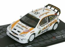 FORD FOCUS RS WRC VALENTINO ROSSI MONZA RALLY SHOW 2006 1:43 Eaglemoss Diecast
