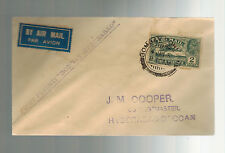 1935 Bombay to Hyderabad India First FLight Cover FFC Airmail