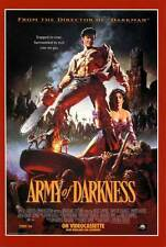 ARMY OF DARKNESS Movie Promo POSTER C Ray Corrigan John 'Dusty' King Max Terhune
