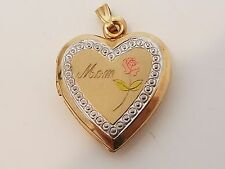 Vintage 10k gold locket