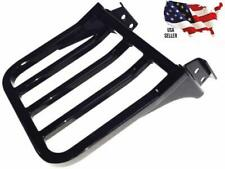 NEW harley heritage softail CLASSIC luggage rack FOR sissy bar backrest BLACK HD