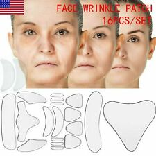 20Pcs Silicone Face Eye Forehead Anti Wrinkle Patch Reusable Facial Lifting Pad