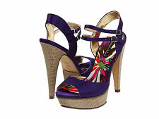 Michael Antonio Thorpe Platform Heels - 6 Purple