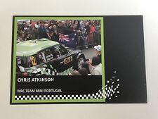 CHRIS ATKINSON WRC Team Mini Portugal Official Photocard