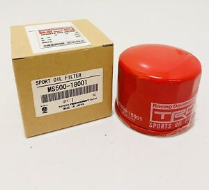 TRD Oil Filter For: 13-20 Scion FRS ; Subaru BRZ ; Toyota 86 GT86 MS500-18001