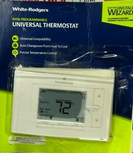White Rodgers UNP310 Heating and Cooling Touch Screen Thermostat