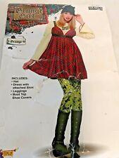 90s Grunge Womens Costume Dress Up Cosplay Halloween Costume 14 16