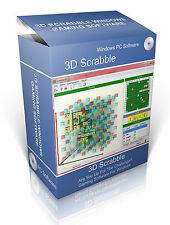3D Scrabble Gaming Software For Windows XP, Vista & 7 & 10