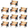 YZ150 40pcs Model Train N Z 1:150 bench chair settee