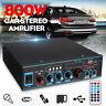 800W bluetooth Stereo Audio Power Amplifier Home Car HiFi Music Karaoke SD