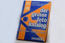 der grosse foto katalog 95/96, Angebot des deutschen Fotohandels GFW-Düsseldorf