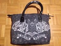 Liquor Brand Damen TATBAT Handtasche.Oldschool,Pin up,Tattoo,Biker,Custom Style