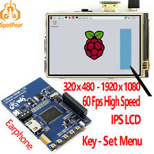 Raspberry Pi 3.5 inch HDMI LCD touchscreen 3.5inch display 60 fps 1920*1080 IPS