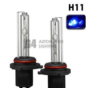 2X NEW HID XENON H11 Headlight/Fog Light HID Bulbs AC 35W 10000K Deep Blue