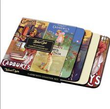 Cadbury's Vintage Ads coaster set of 4  (hb)