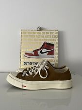 Converse x Carhartt WIP Chuck Taylor All Star 70 Ox Low Top Size 8.5 Brown 15843