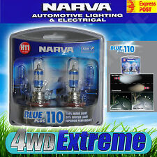 NARVA H11 BLUE PLUS 110 CAR HALOGEN HEADLAMP LIGHT BULBS GLOBES T10 48538BL2