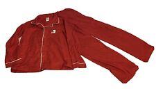 Gymboree L 10/12 Red Button Front Penguin Loose Fit Pjs Pajamas