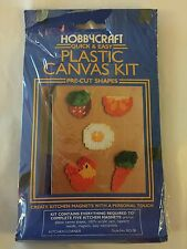HobbyCraft Plastic Canvas Kit KITCHEN CORNER MAGNETS Style 812-08