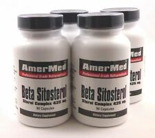 4X Beta Sitosterol 425 mg Prostate BPH Frequent Painful Urination Cholesterol