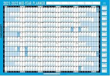 More details for a1 2021-2022 academic mid year student wall planner calendar pen & adhesive dots