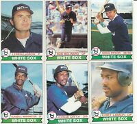 Lot of 12 different 1979 Topps Chicago White Sox Baseball Cards ex to exmt