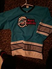 Iron Maidain Heavy Metal Hockey Jersey Eddie Large