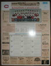 1984-85 Kingston Canadians Team Poster, Todd Elik...etc