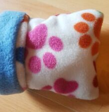 Hamster Cozy Bed Fleece Cuddle Cup Snuggle Pouch Sleeping Bag Sleeping Sack