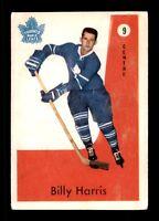BILLY HARRIS 59-60 PARKHURST 1959-60 NO 9 VGEX+  12231