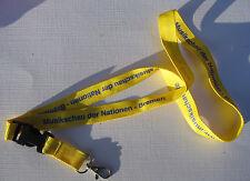 Musikschau der Nationen-Bremen Schlüsselband Lanyard NEU (A52)