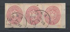 FRANCOBOLLI 1863 LOMBARDO VENETO 5 SOLDI VERONA 17/8 A/4163