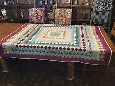 Vintage Quilt......Trip Around The World...