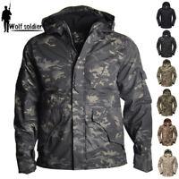 ECWCS G8 Mens Army Tactical Jacket Military Coat Waterproof Fleece Parka Kryptek