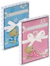 10 x Babykarten Doppelkarten mit Umschlag Design Steinbeck rosa blau 1,79€/St