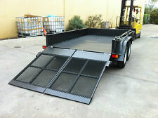 TANDEM PLANT TRAILER 3T BOX WITH RAMPS HEAVY DUTY 10X6 ALSO AVAILBL 10X5 8X5 9X6