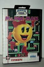 Ms- PAC-MAN USATO OTTIMO SEGA MASTER SYSTEM EDIZIONE ITALIANA PAL DM1 40106