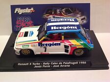 FLYSLOT RENAULT 5 TURBO - RALLY CALES DE PALAFRUGELL 1986 - SCALEXTRIC-NEW!