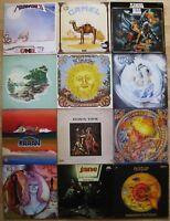 Progressive Krautrock Schallplatten Sammlung 12 LPs Kraan Jane Nektar Klaatu ...