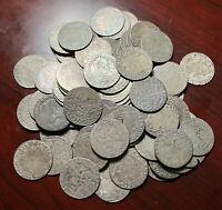 1623 - 1627 POLAND King Sigismund III Genuine Antique Silver 6 Groszy 1 Pc