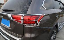 New Chrome Rear Light Cover Trim For Mitsubishi Outlander 2016 2017