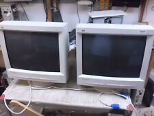 E90 VIEWSONIC 19 INCH WHITE MONITOR GRADE B GREAT PICTURE 19INCH VGA A CASE B SN