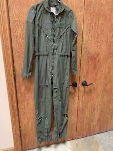 Green flight suit