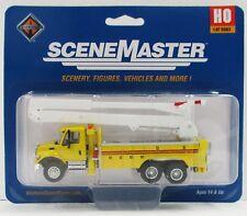 HO Scale Walthers SceneMaster 949-11752 International 7600 Truck w/Bucket Lift